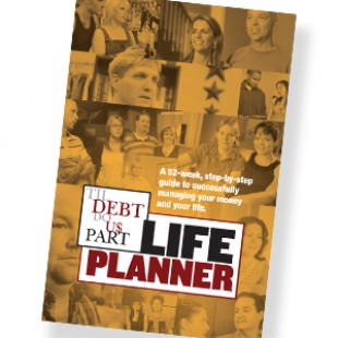 52-Week Til Debt Do Us Part Life Planner
